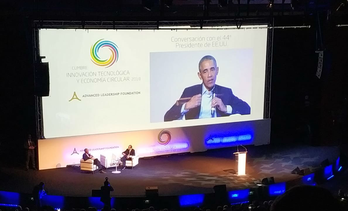 Barack Obama, Cumbre de Innovación Tecnológica y Economía Circular