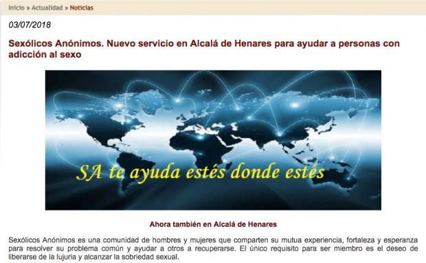 """El obispo de Alcalá de Henares ofrece un servicio de """"Sexólicos Anónimos"""""""