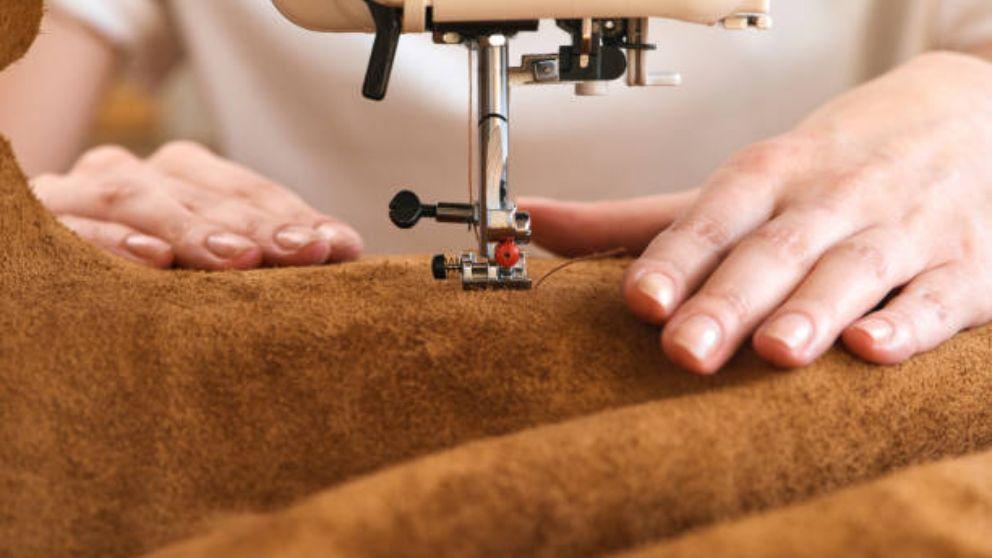 Pasos para saber cómo coser cuero a maquina