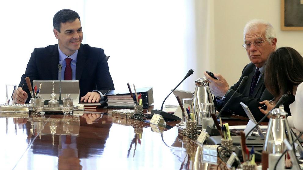 Pedro Sánchez, en una reunión del Consejo de Ministros.