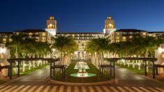 Fachada del hotel Lopesan Costa Meloneras