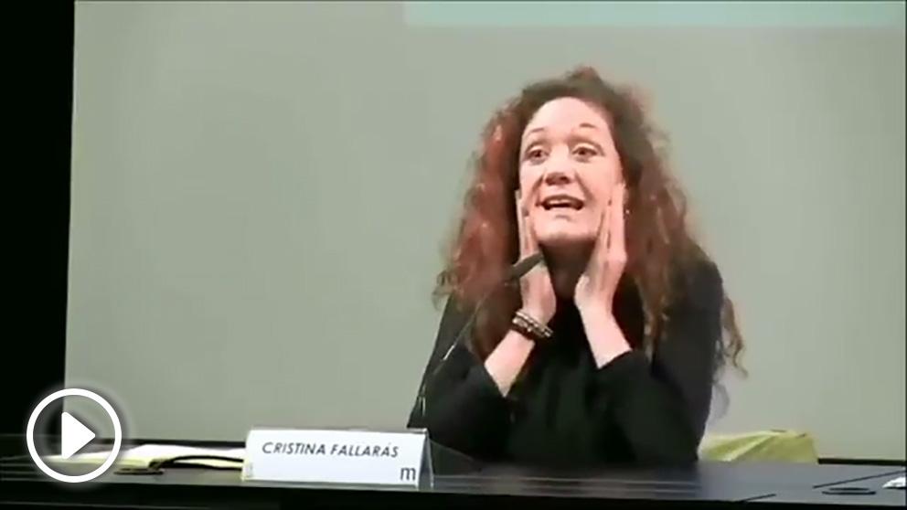 La periodista Cristina Fallarás presume de haber robado en un supermercado