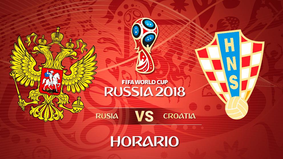 Mundial 2018: Rusia – Croacia | Horario Mundial de Rusia.