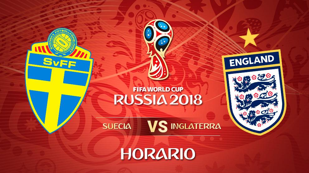 Mundial 2018: Suecia – Inglaterra   Horario Mundial de Rusia.