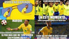Los mejores memes del Bélgica – Brasil.