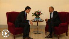 Barack Obama y Pedro Sánchez