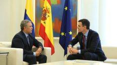 Pedro Sánchez con Iván Duque (RRSS).