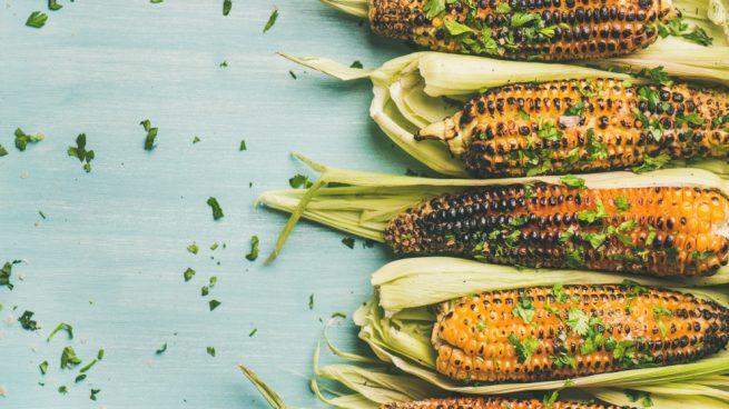 mazorca de maíz al horno