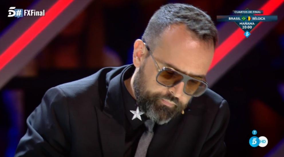 Risto Mejide en 'Factor X'