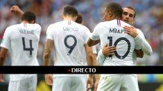 Griezmann y Mbappé (Getty) | Uruguay – Francia | Partido del Mundial de Rusia 2018