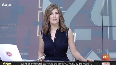 La presentadora de RTVE Lara Siscar