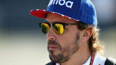 A pesar de haber logrado solamente la 13ª plaza en la parrilla, Fernando Alonso ha afirmado que ha completado la mejor crono del año en Silverstone. (Getty)