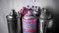 Pasos para pintar ropa con spray