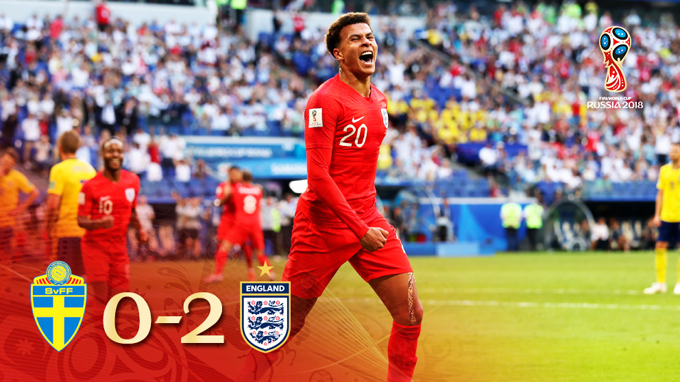 Inglaterra ya está en semifinales tras un gran partido frente a Suecia.