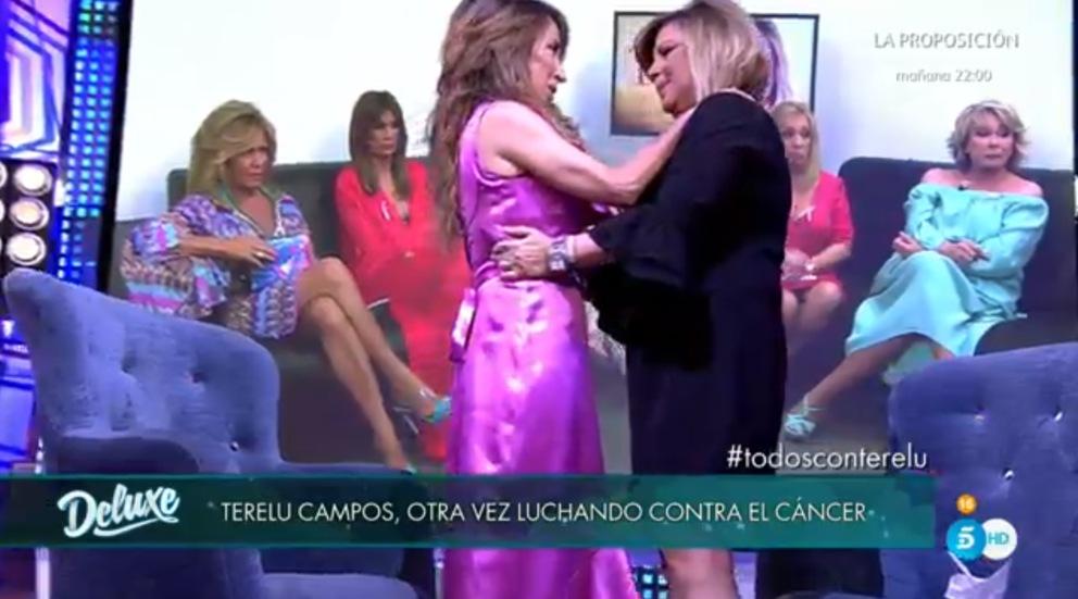 Terelu Campos aparece en 'Sálvame Deluxe'