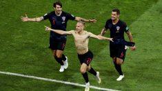 Vida celebra su gol a Rusia. (Getty)