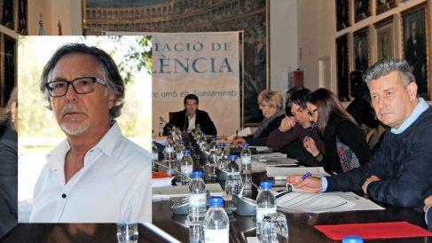 Josep Ramón Tíller Fibla y el Consejo de Administración de Divalterra.