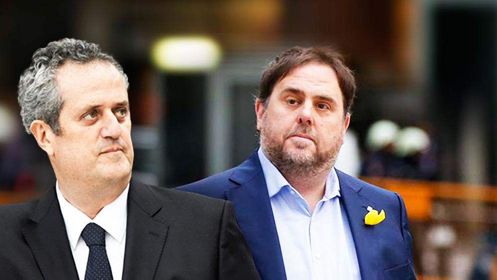 Joaquim Forn y Oriol Junqueras.