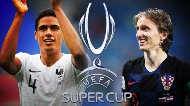 Modric y Varane se alejan de la Supercopa
