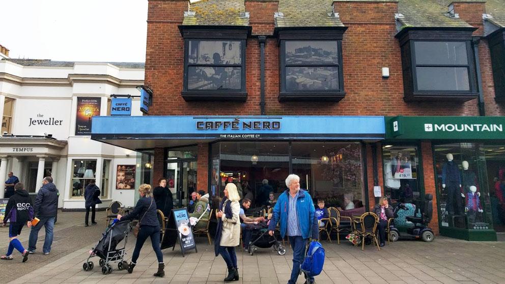 Caffè Nero, en Exmouth.