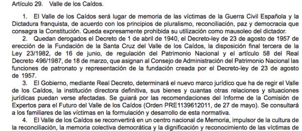 """Sánchez prepara su segundo """"decretazo"""" para exhumar a Franco"""