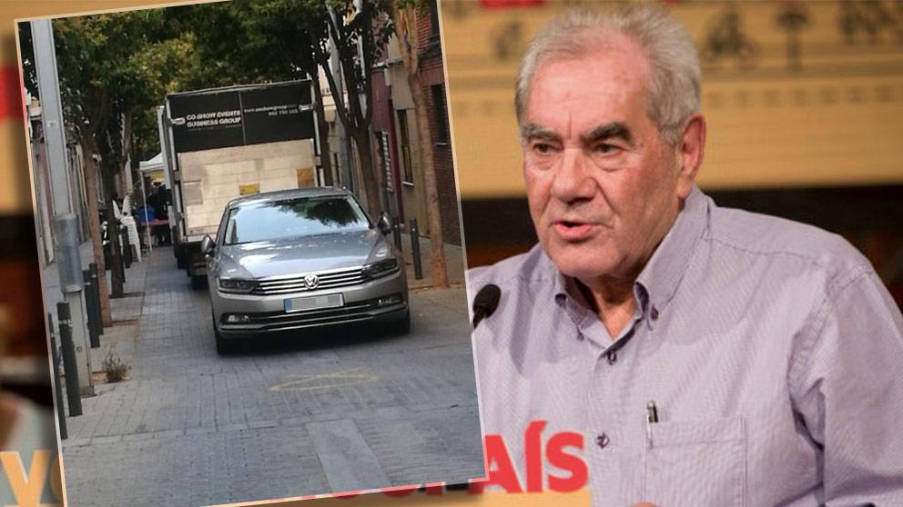 Ernest Maragall usó el coche oficial para acudir a una cena a favor de Junqueras