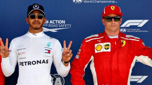 Lewis Hamilton está convencido de que su colisión en Silverstone con Kimi Raikkonen no fue algo fruto de la casualidad. (Getty)