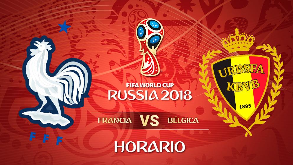Mundial 2018: Francia – Bélgica   Horario Mundial de Rusia
