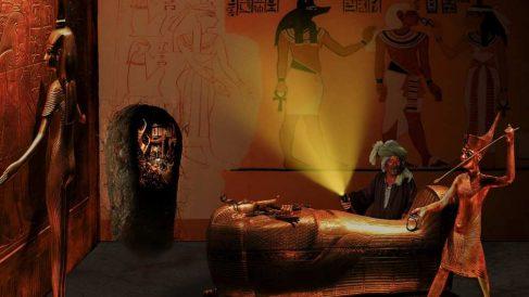 Los ladrones de tumbas en el antiguo Egipto.