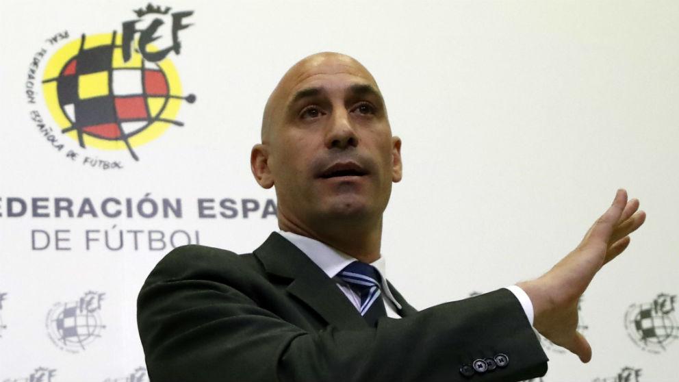 Luis Rubiales, presidente de la Federación. (EFE)