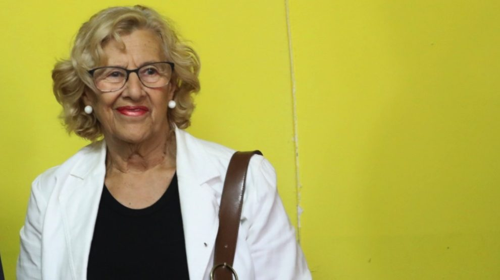 La alcaldesa de Madrid, Manuela Carmena (Foto: Ayuntamiento de Madrid).
