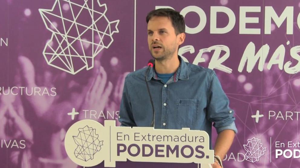 Álvarp Jaén, Podemos Extremadura