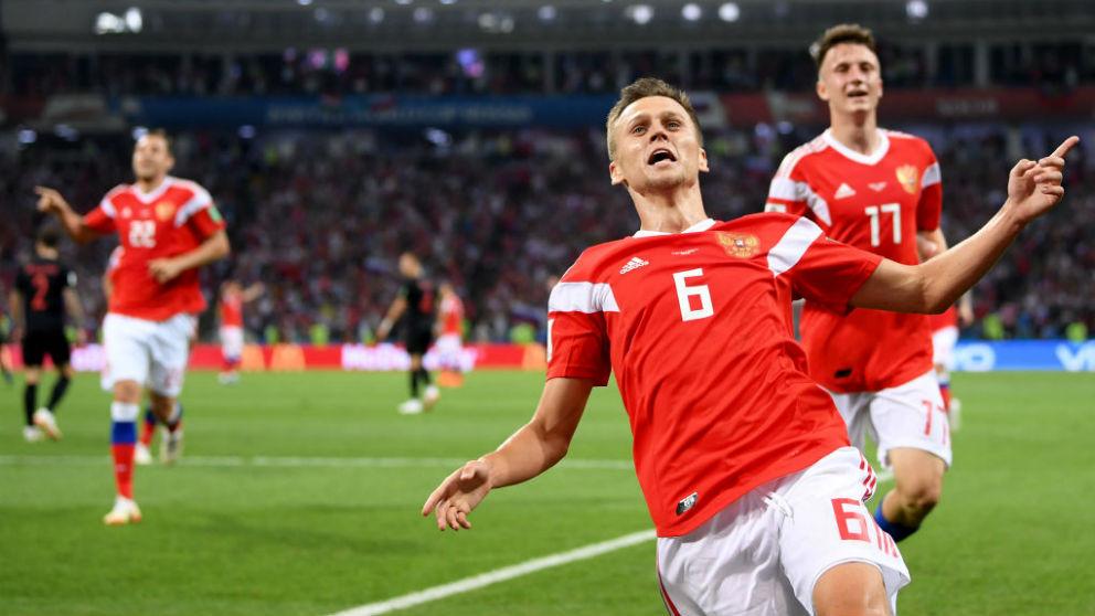 Cheryshev ha sido uno de los jugadores rusos más destacados en el Mundial. (Getty)