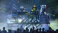 Orbital durante una actuación. | Festival Cruïlla 2018
