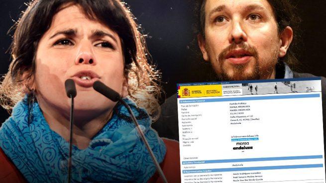Golpe definitivo de Teresa Rodríguez a Iglesias: pone a su equipo al cargo de 'Marea Andaluza'