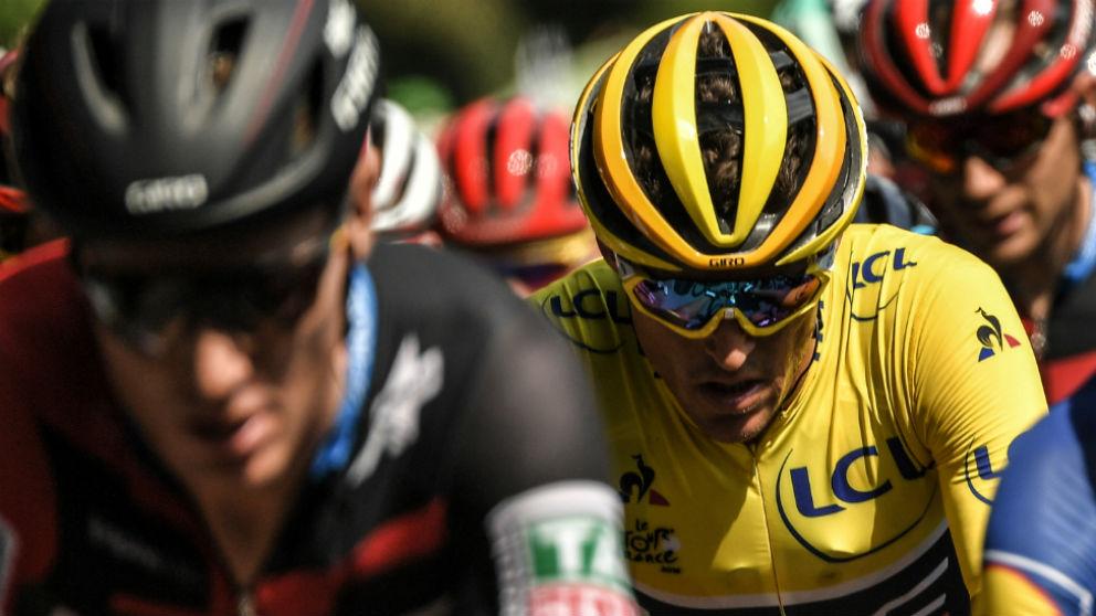 Así queda la clasificación general del Tour de Francia tras la etapa 4. (AFP)