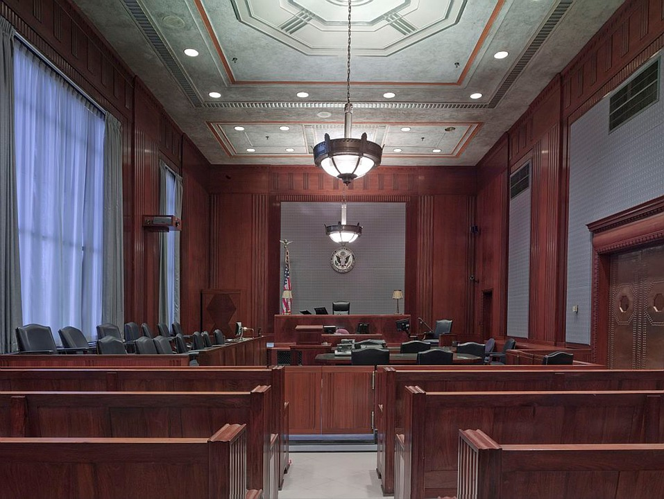 Imagen de archivo de un juzgado.