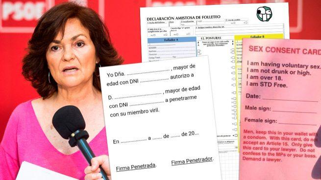 """Las redes sociales se cachondean del """"si no es sí, es no"""" de Carmen Calvo"""