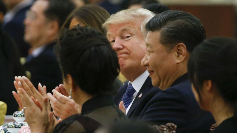 Donald Trump y Xi Jinping (Foto: Getty)