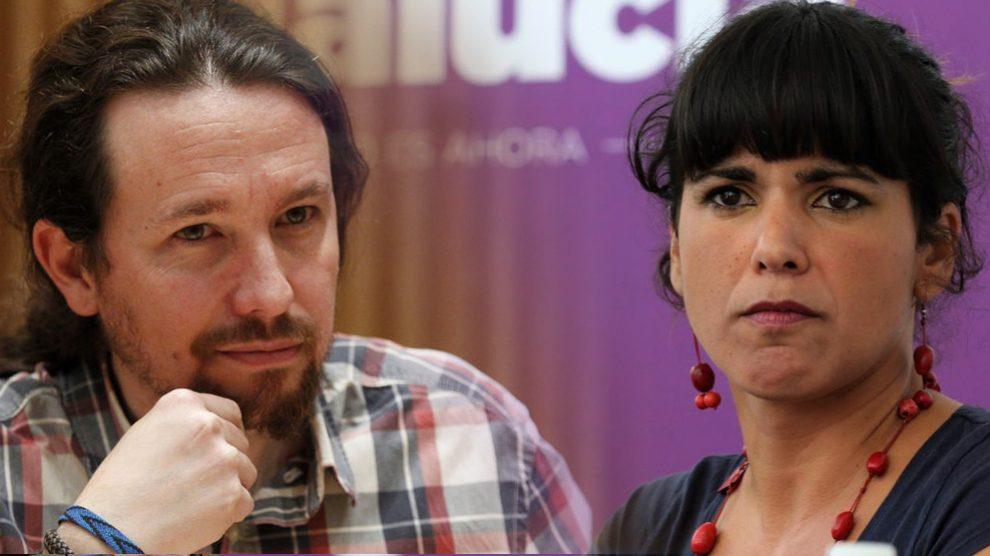 Pablo Iglesias y Teresa Rodríguez