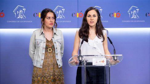 Ione Belarra, portavoz adjunta de Unidos Podemos en el Congreso. (Foto: Podemos)