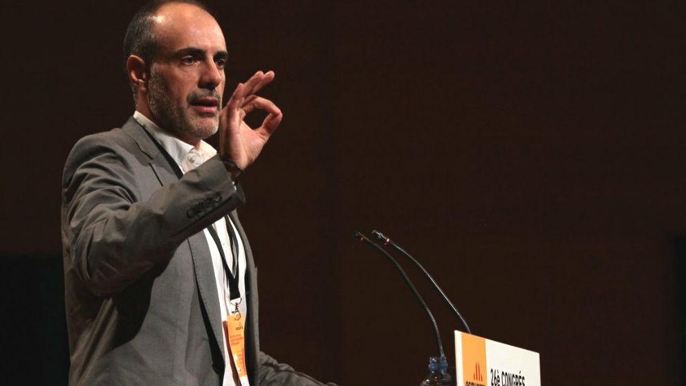 El ex secretario general de ERC y nuevo letrado del Parlament, Joan Ridao