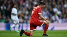 Lewandowski quiere marcharse del Bayern y, aunque el club se niega, en Inglaterra aseguran que saldrá (Getty).