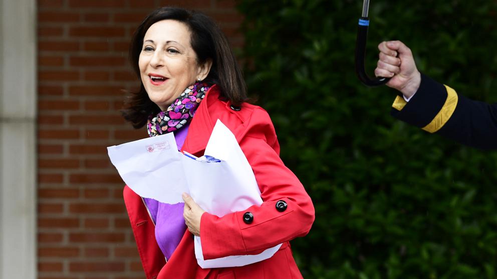Margarita Robles, ministra de Defensa. (Foto: AFP)
