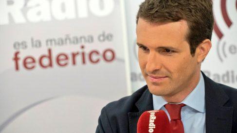 Pablo Casado en 'Es la mañana de Federico'.