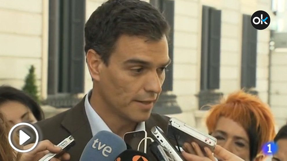 Pedro Sánchez pidió eliminar la inviolabilidad del Rey en 2014 (Imágenes cedidas por RTVE)