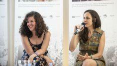 Las diputadas de Podemos Ione Belarra y Sofía Castañón presentando la iniciativa (Foto: Flickr Podemos)