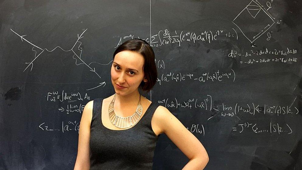 Sabrina Gonzalez, la millenial que quiere imitar a Albert Einstein