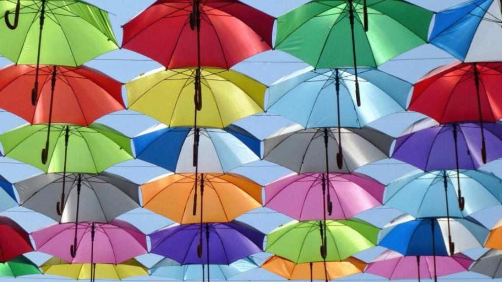 Tipos de paraguas