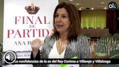 Corinna: «Ana Romero es una agente doble»